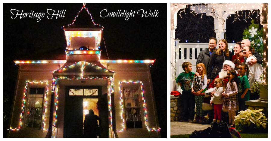 Heritage Hill Candlelight Walk