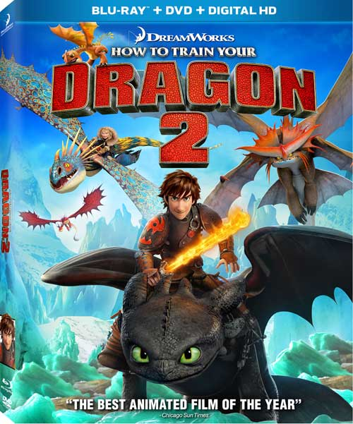 How To Train Your Dragon 2 Blu-Ray DVD
