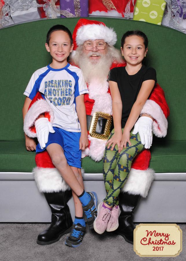 Photos with Santa at Santa HQ