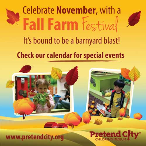 Pretend City, Farm Fall Festival