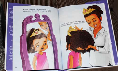 Princess Cupcake Jones Graphics from Book Won't Go To School