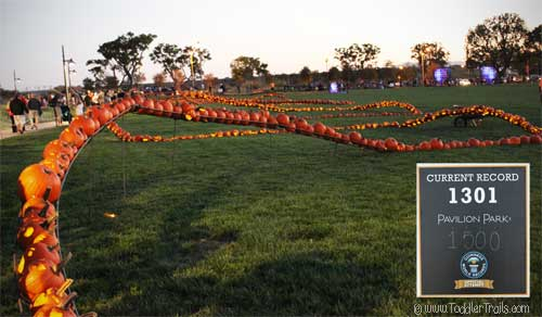 Pumpkin Glow Guinness World Book of Records