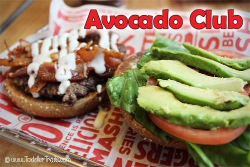Smashburger Bacon Avocado Club