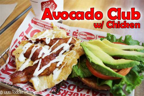Smashburger Bacon Club with Chicken