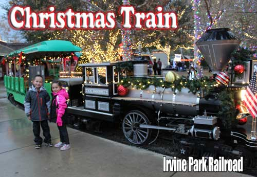 Christmas Train, Irvine Park Railroad