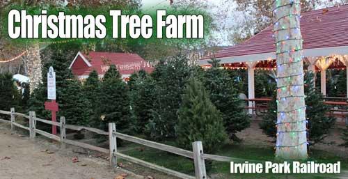 Christmas Tree Farm at Irvine Park Railroad