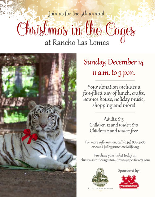 Christmas At The Cages, Rancho Las Lomas