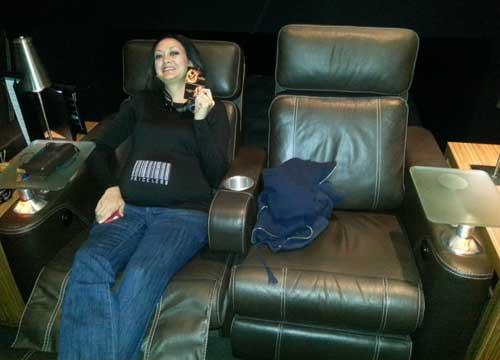 Cinepolis Luxury Theater, Rancho Santa Margarita, Mocking Jay Premier