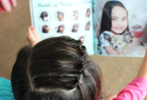 Book Tutorial On Disney Frozen And Princess Hairstyles
