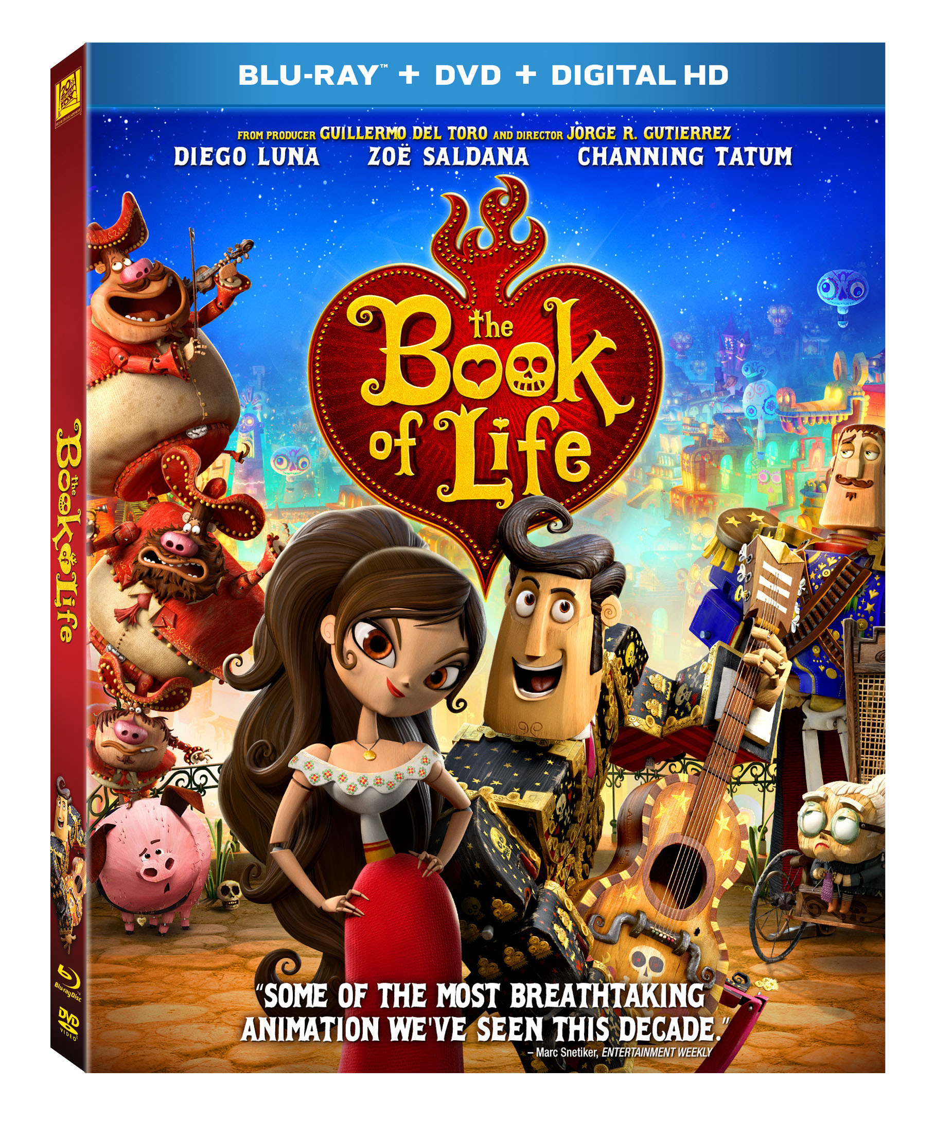 Win It Book Of Life Blu Ray Dvd Toddler Trails