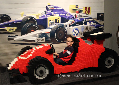 Lego Model Race Car