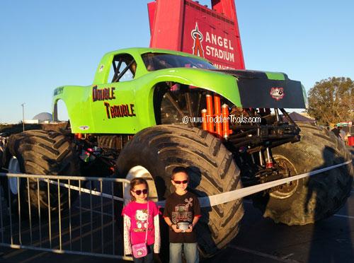 Monster Jam, Angels Stadium, Double Trouble