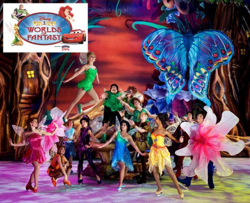 Disney On Ice, Fairies, Tinkerbell, Worlds of Fantasy