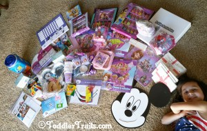 Disney Side sponsors and party favors