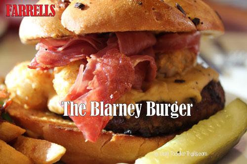Farrell's Ice Cream Parlour, Blarney Burger