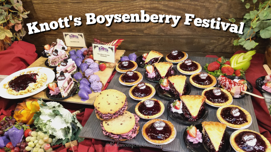 Knotts Boysenberry Festival
