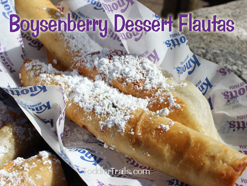 Knott's Berry Farm, Knotts Spring, flautas, boysenberry flautas, Boysenberry Festival