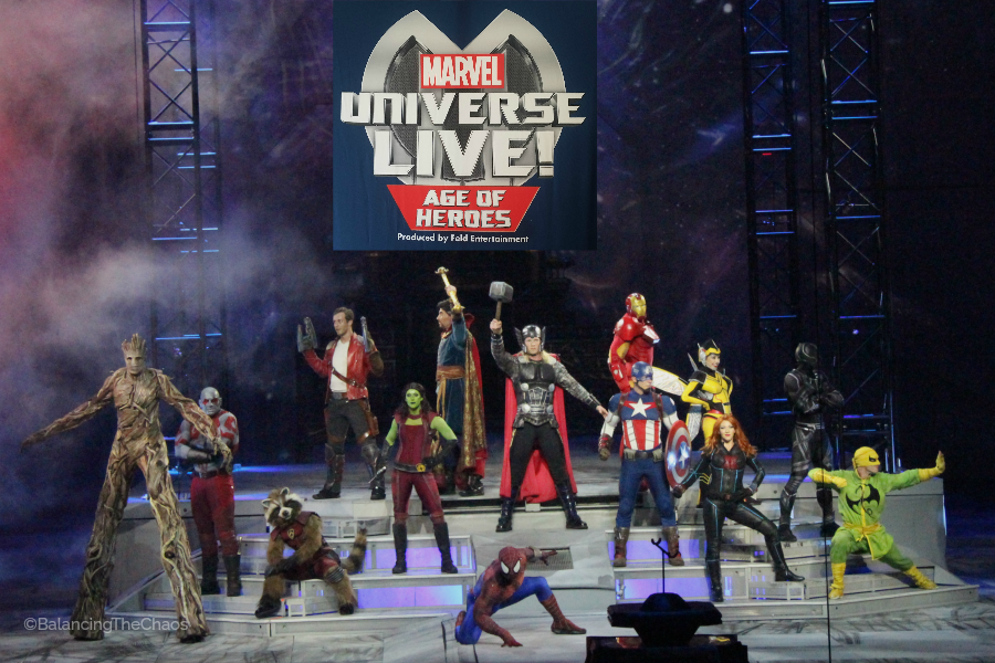 Marvel Universe Live Honda Center