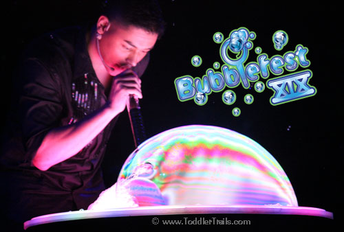 Rainbow Bubbles, Deni Yang, Discovery Science Center, Discovery Cube Orange County