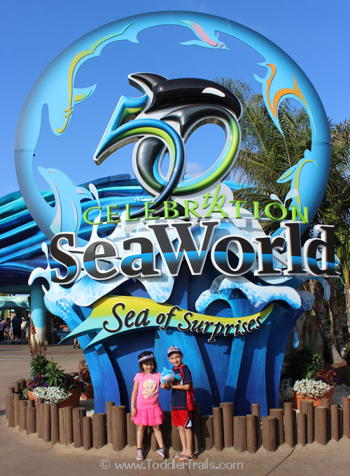 Our Mini San Diego Seaworld Vacation Toddler Trails
