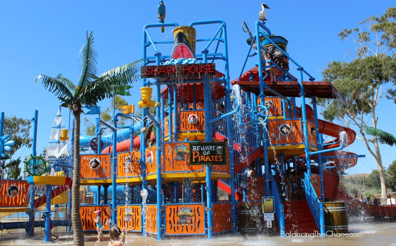 Buccaneer Cove Splash Pads