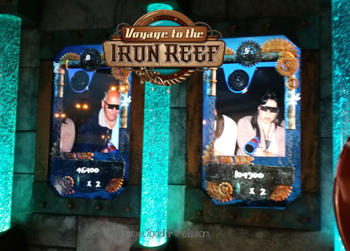 Knott's Berry Farm, Voyage to the Iron Reef, Scores for Voyage to the Iron Reef