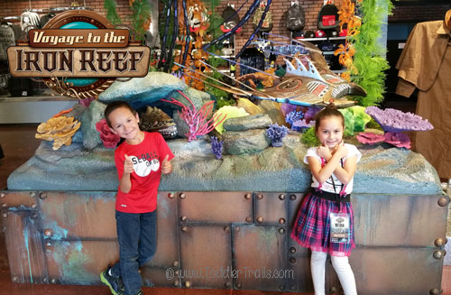 Kid Approved, Voyage to the Iron Reef, Knott's Berry Farm, 4-D Interactive Ride