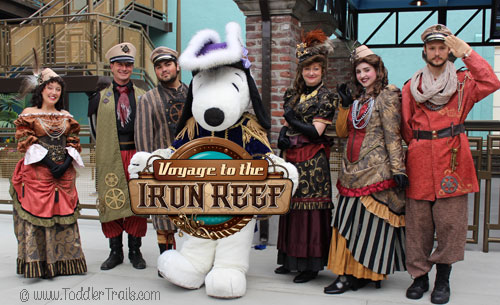 Voyage to the Iron Reef, Knott's Berry Farm, #KnottsIronReef