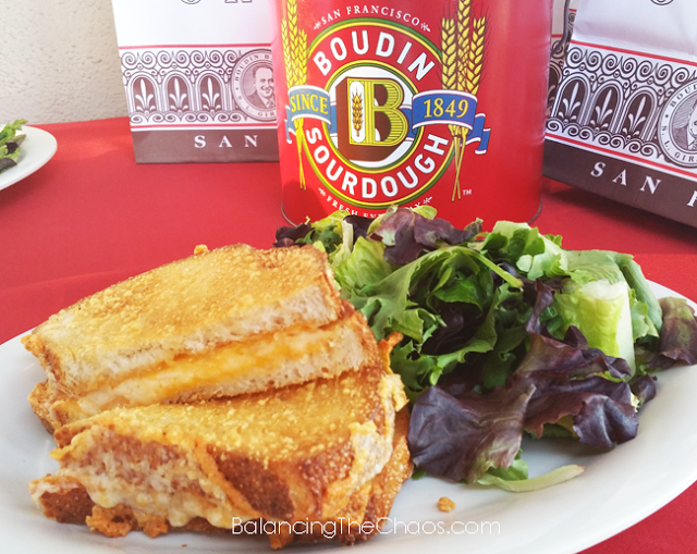 The Great Grilled Cheese, Boudin, BalancingTheChaos.com