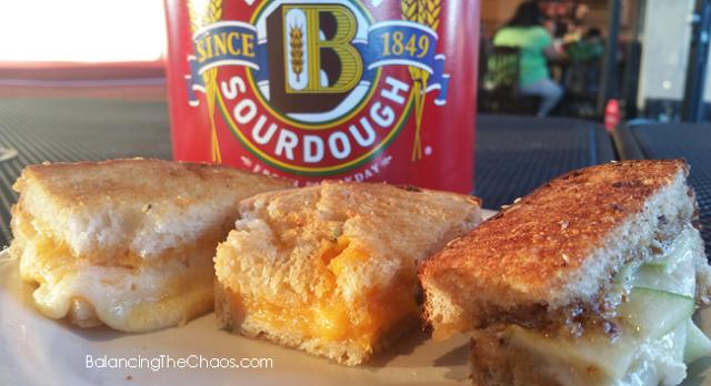 Boudin Grilled Cheese Sandwiches, Boudin Huntington Beach, BalancingTheChaos.com