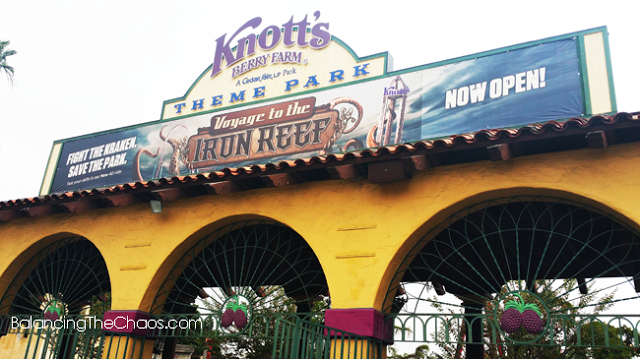 Knott's Berry Farm, New At Knott's, BalancingTheChaos.com