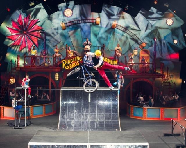 Ringling Bros. Circus, BMX3 BalancingTheChaos