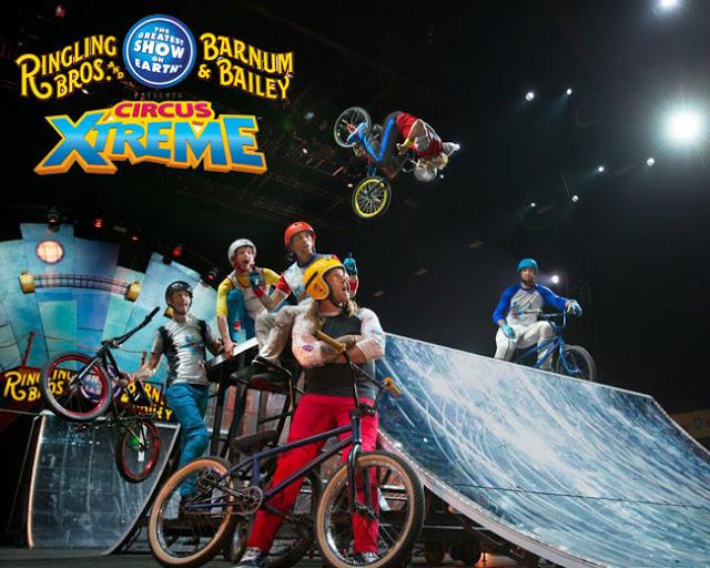 Ringling Bros. Barnum & Bailey Circus, Xtreme BalancingTheChaos.com
