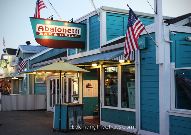 Abalonette Bar and Grill, Monterey Bay, BalancingTheChaos.com