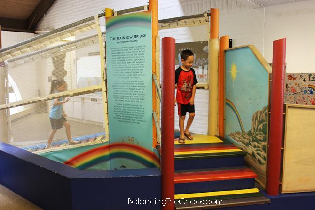 Bowers Museum, Rainbow Bridge