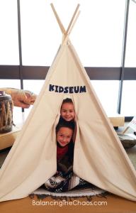 Bowers Kidseum Tipi