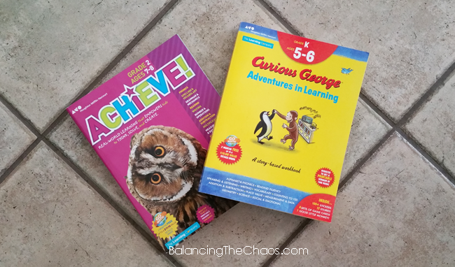 Achieve! Educational Workbooks