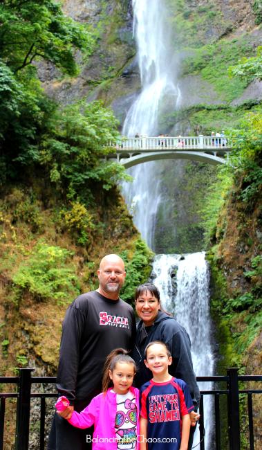 Multnomah Falls - BalancingTheChaos.com