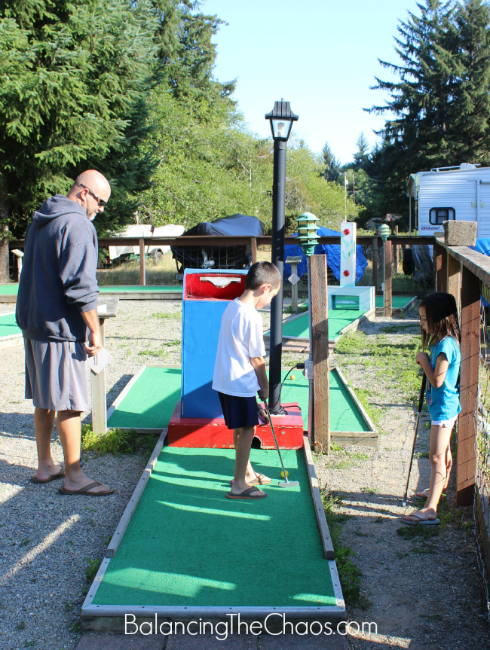 Mystic Forest RV Park and Campground Mini Golf