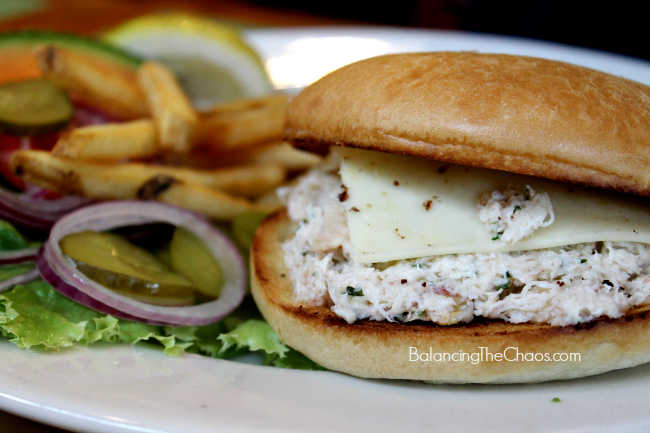 Phil's Fish Market & Eatery Crab Sandwich