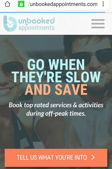 Unbooked Appointments