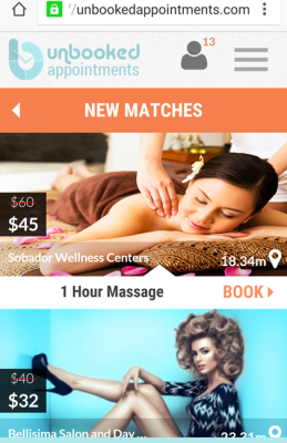 Unbooked Appointments, Matches
