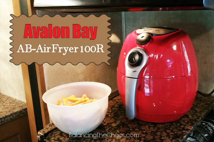 Avalon Bay AirFryer100R, Air Fryer