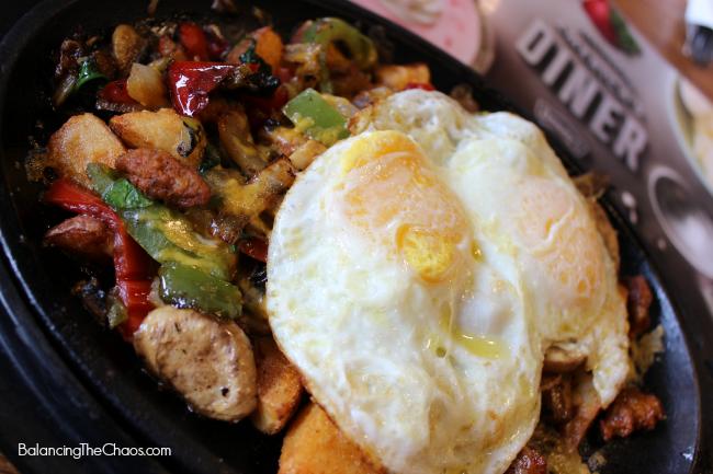 Denny's Santa Fe Breakfast, Denny's partnership with knotts berry farm