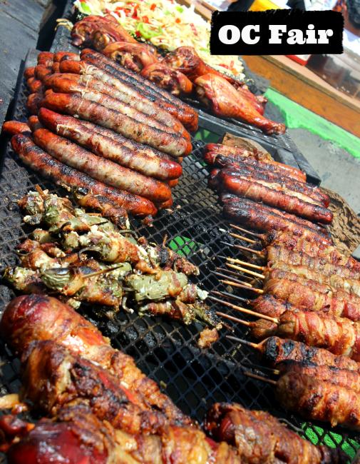 OC Fair Food, Turkey Legs, hot dogs