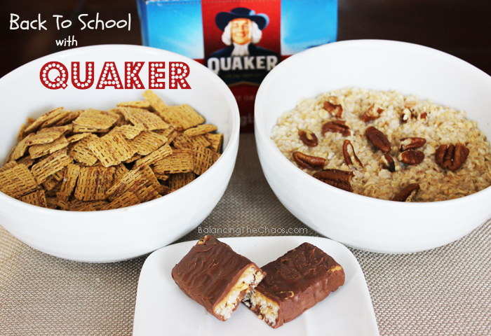 Quaker Time Back to School, ad, collective bias, BalancingTheChaos.com