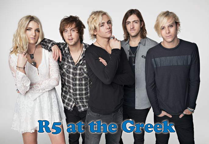 R5 At The Greek Theater August 23, 2015