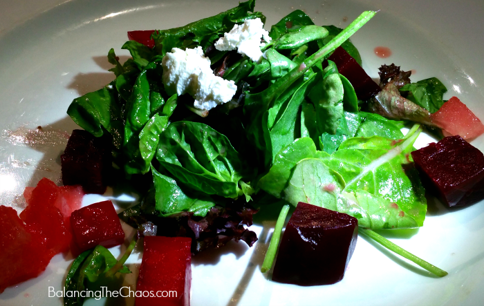 Savannah Chop House Watermelon Beet Salad