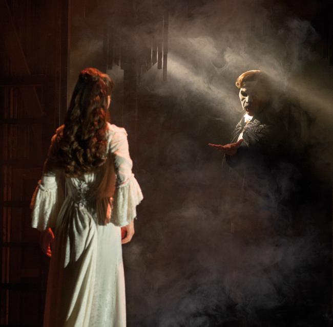 Phantom of the Opera at Segerstrom Center For The Arts, Photo Credits: Matthew Murphy