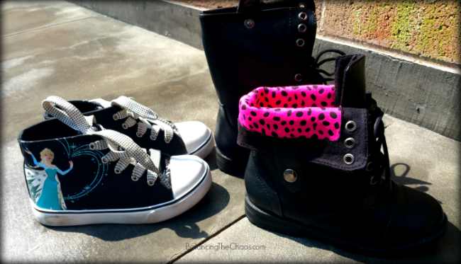 WSS Shoes, Girls Selection